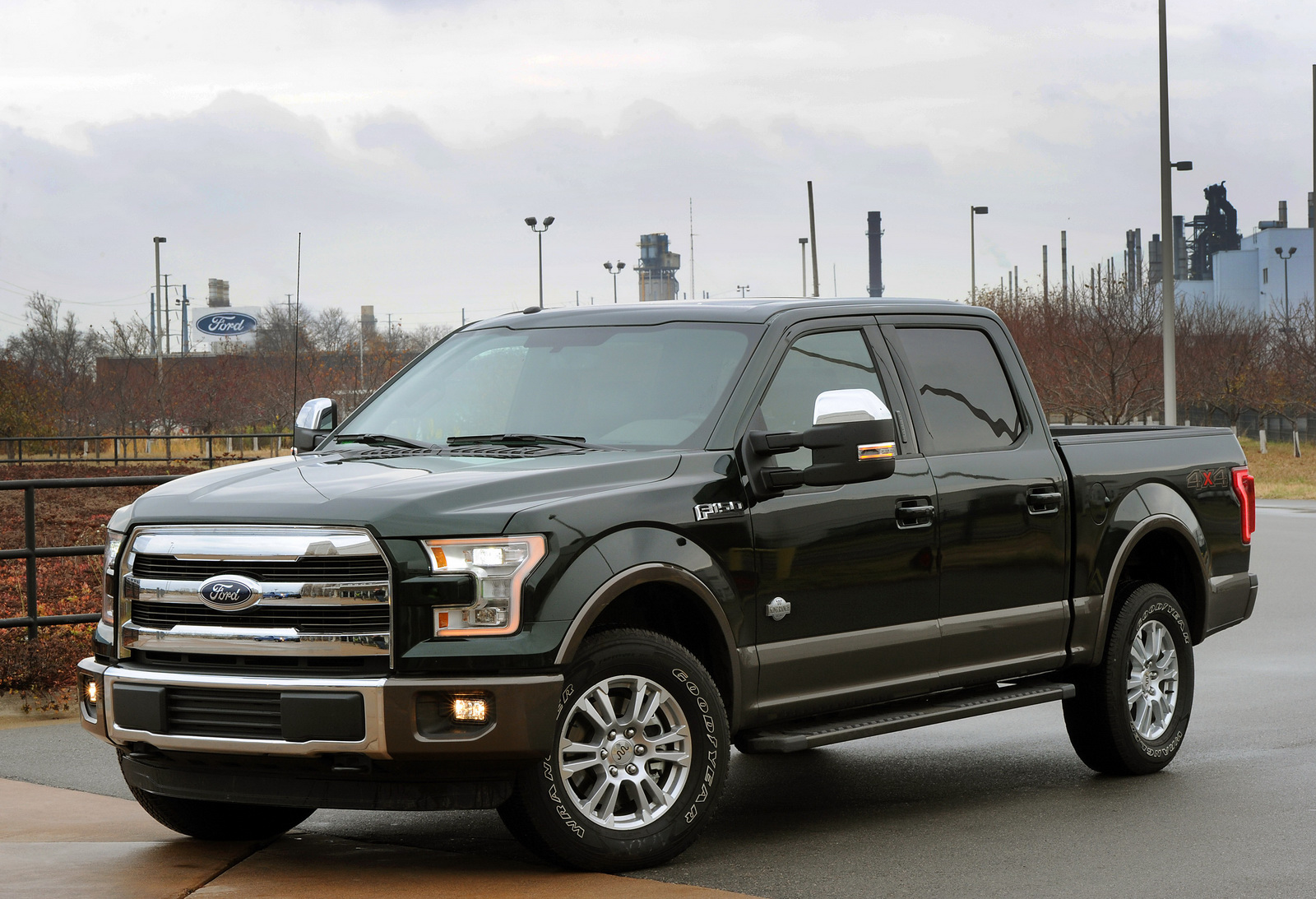First 2015 Ford F